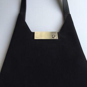 Black Salvatore Ferragamo Handbag